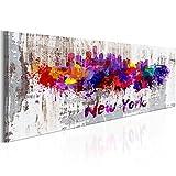 murando Cuadro en Lienzo Nueva York City NY 135x45 cm 1 Parte Impresión en Material...