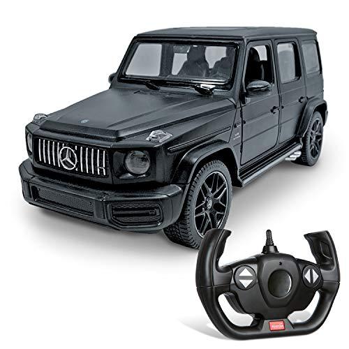 Mondo Motors, Mercedes G63 AMG, Modell im Maßstab 1:14, bis 10 km/h Geschwindigkeit, Auto Spielzeug für Kinder 63611