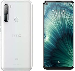 HTC U20 5G 256GB 6GB RAM (مصنع غير مقفل) (أبيض) GSM/HSPA/LTE / 5G فقط - طراز عالمي (أبيض)