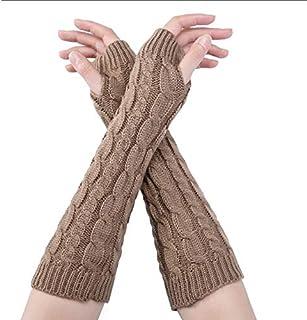 冬の女性の温かい弾性ミトンアクセサリーユニーク者のためのかわいい厚み付け伸縮ハーフフィンガー指なし手袋をYunskynomise