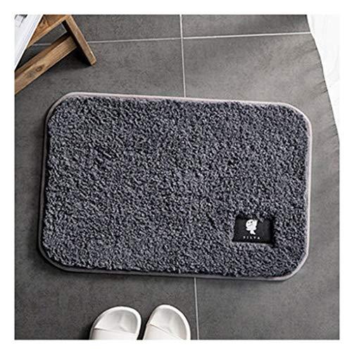Tapijt Fluffy Maten Bathroom Area Bedside Vloer Vloerbedekking Fotografie Deken Deurmat Buiten Extra Duurzaam (Color : Purple, Size : 50 * 80cm)