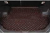 Lxzy para Nissan Qashqai 2008-2016 2017 2018 2019 2020 2021,Coche Cuero Alfombrillas para Maletero Bandeja Funda Maleteros Impermeable Protector Alfombra Forro Interior Accesorios