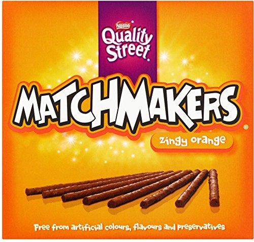 Nestle Quality Street Matchmakers Zingy Orange 130 g Box (5 Stück)