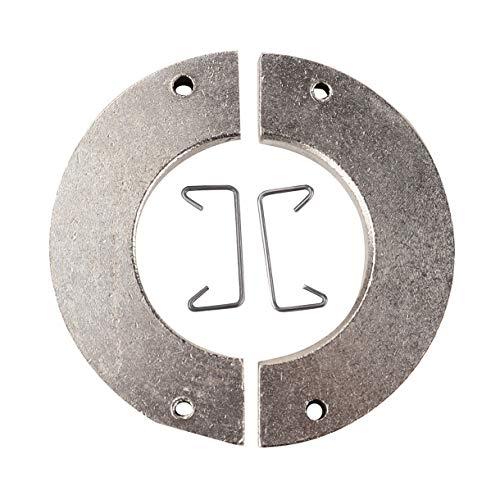 Upgrade Metall Radgewicht OP Reifen Gegengewicht Eisen für WPL & MN RC Car Crawler Teile Erhöhen Sie das Gleichgewicht RC Car Teile (Farbe: Silber)