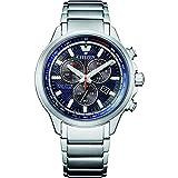 Citizen AT2470-85L Reloj Eco drive Super Titanium Cronógrafo Esfera Azul