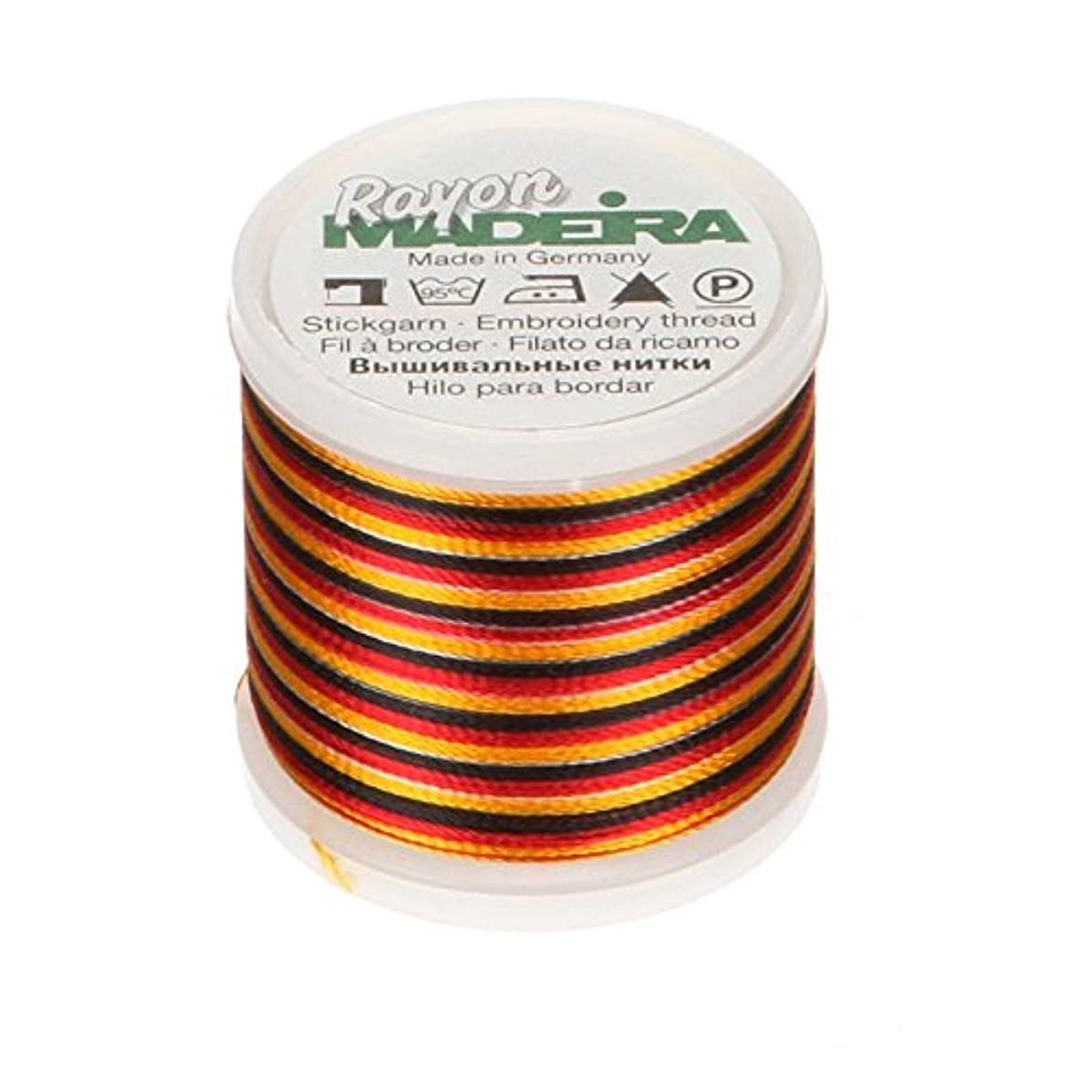 Madeira 9840-2145 Rayon Embroidery Thread, 40wt/220 yd, Multicolor