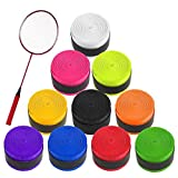 Cinta de Agarre de Tenis 10PCS Raqueta de Tenis Grip Tape para Raquetas de...