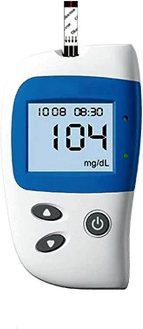 RUICHENG Instrumento Medidor De Glucosa, 10 Tiras De Colesterol 25 Tiras De Ácido Úrico 50 Colesterol De Glucosa En Sangre Medición De Ácido Úrico (Size : B)