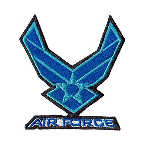 Patch Bordado - Brasao Força Aerea Eua Us Air Force AV20025-241 Termocolante Para Aplicar