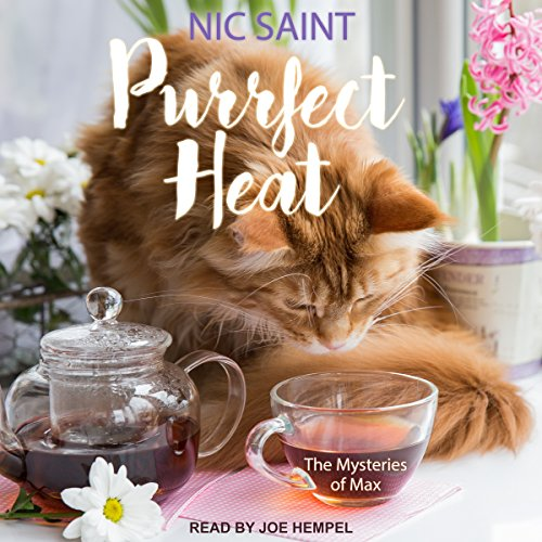 Purrfect Heat audiobook cover art