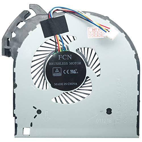 Lenovo - Ventilador Compatible con Lenovo V110-15IKB (80TH001WGE), V110-15IKB (80TH0021GE), V110-15ISK (80TL0098AU), V110-15ISK (80TL01B2GE), V110-15IKB (80TH002DGE)