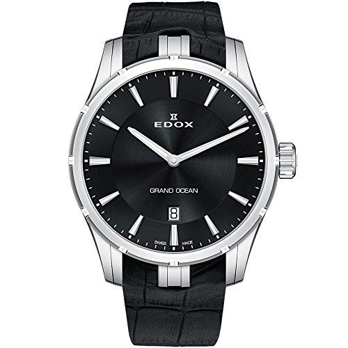 Edox Grand Ocean Reloj de Hombre Cuarzo Suizo 41mm 56002 3C