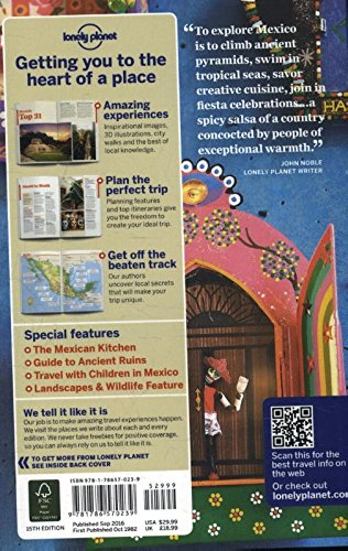 Mexico 15 (Inglés) (Country Regional Guides)