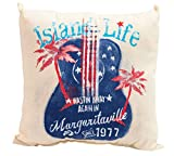 Margaritaville Set of 2 Outdoor Double Sided Decorative Throw Pillows, Set of 2, Island Life