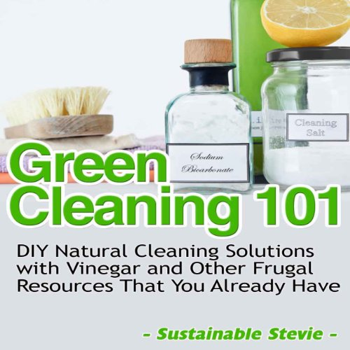 Green Cleaning 101  audiobook cover art