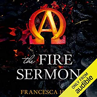 The Fire Sermon audiobook cover art