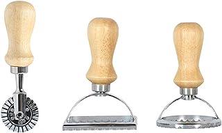 CUEYU Ensemble d/'emporte-pi/èce /à Ravioli Moules Acier Inoxydable Ustensiles pour p/âtes Moule et P/âte Pression Boulette Pie Maker Wrapper D/écoupe P/âte Accessoires de Cuisine A