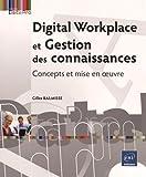 Digital Workplace et Gestion des connaissances - Concepts et mise en oeuvre de Gilles BALMISSE (10 juin 2015) Broché - 10/06/2015