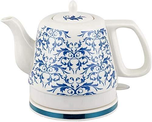 Bouilloires en céramique bouilloire électrique sans fil eau Teapot, Teapot-Retro 1.2L Jug, 1000W rapide (Couleur: B) 8bayfa (Color : E)
