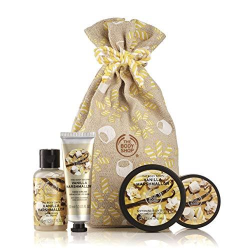 The Body Shop Festive Sack of Vanilla Marshmallow Delights Gift Set