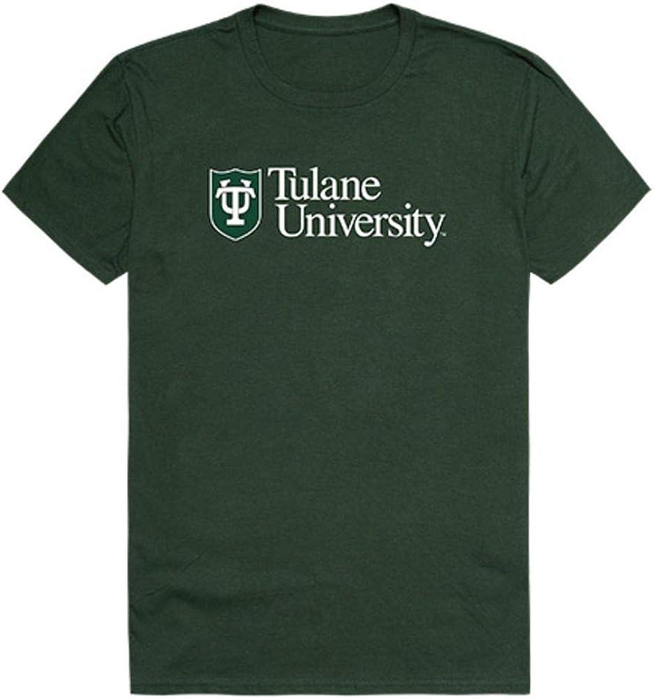 Tulane University Green Wave NCAA オンライン限定商品 Tee 数量限定 T-Shirt Institutional
