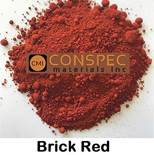 Conspec 2-oz. Brick RED Powdered Color for Concrete, Cement, Mortar, Grout, Plaster