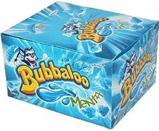 Bubbaloo Mexican Bubble Gum Menta (Mint), 50 Pieces