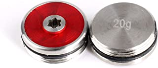 Volf Golf Custom Aftermarket Putter Weights 2pcs 10/15/20/25/30/35g Compatible with Odyssey O-Works Putter