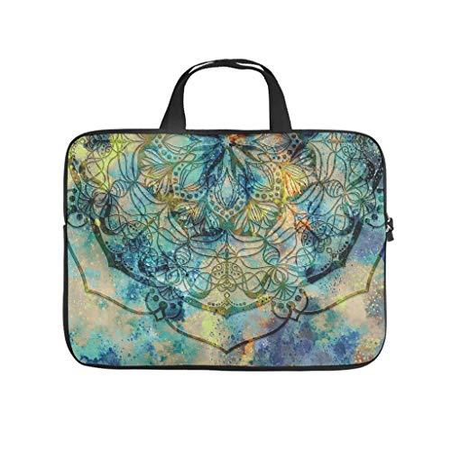 Laptop Bag Dream Mandala Scratch-Resistant Fashionable Handbag Compatible with 13-15.6 Inch Notebook