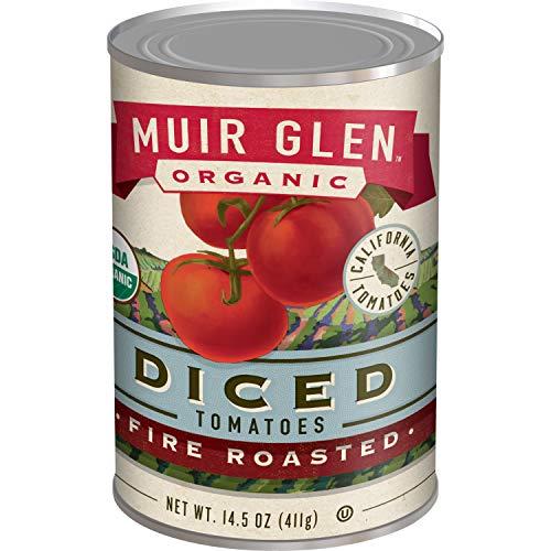 Muir Glen, Organic Diced Tomatoes, Fire Roasted, 14.5 oz