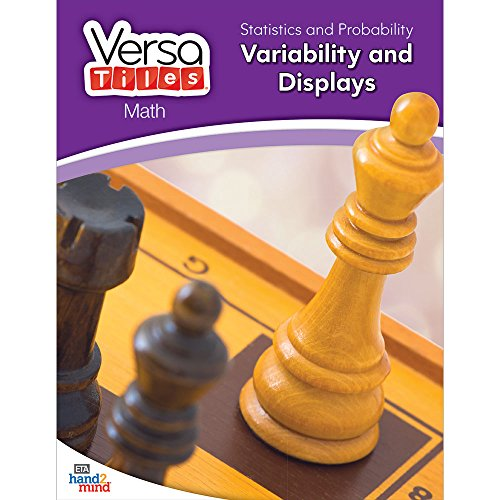 hand2mind VersaTiles Math Books Grade 6 (Statistics and Probability: Variability and Displays)