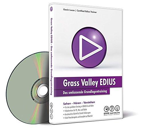 EDIUS – Das umfassende Grundlagentraining (Win + Mac+Tablet)
