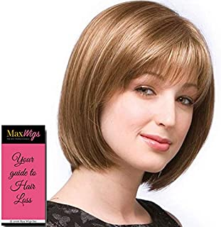 ERIKA Monofilament Wig #2532 Amore Collection by Rene of Paris, Bundle - 2 Items: Wig and Wig Lift Comb! (Color Selected: MOCHACCINO)