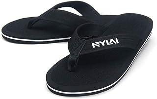 LJLLINGA Solid Man Slippers Holiday Super Big Size Flip Flop Famous Popular Style Men Beach Footwear House Flip Flops Slippers