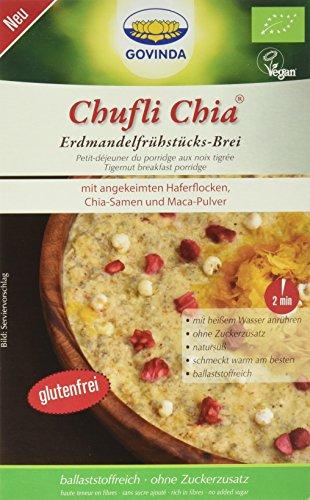 Govinda Chufli Chia Erdmandelfrühstücks-Brei, 2er Pack (2 x 500 g)