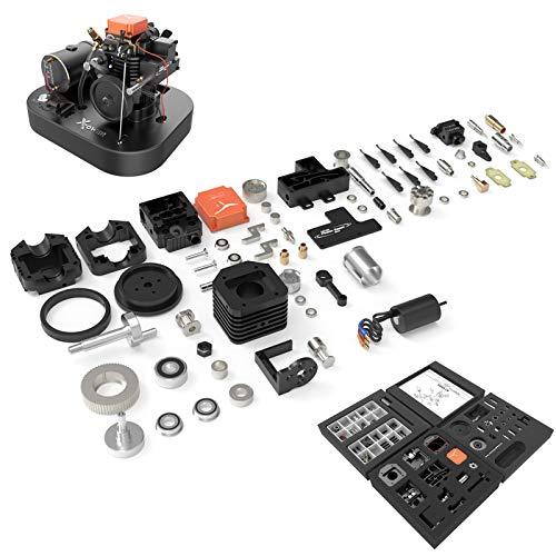 DAN DISCOUNTS Toyan FS-S100AC-MS - Juego de motor de 4 tiempos (1:10, 1:12, 1:14)