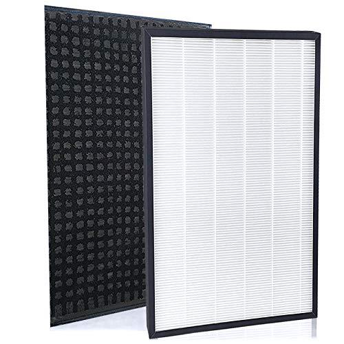 空気清浄機交換フィルター F-ZXFD70 脱臭フィルター と 交換用集塵フィルター F-ZXGP80 互換品 1セット