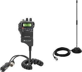 PNI Paket CB Radio Midland Alan 42 DS + Antena Extra 40 con imán, ASQ, 40CH, 4W, SWR 1.0