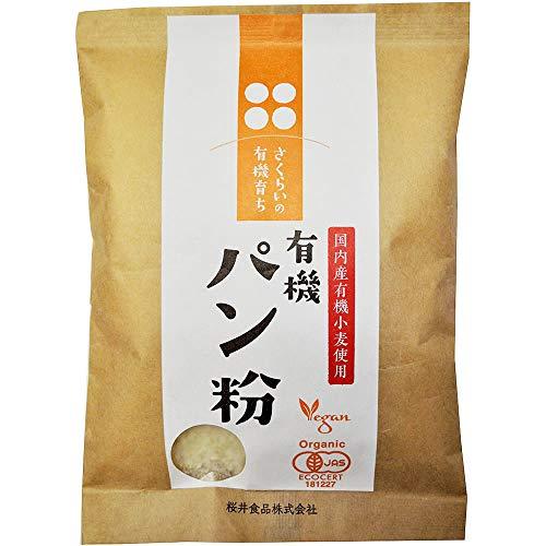 桜井食品 有機育ち パン粉 100g