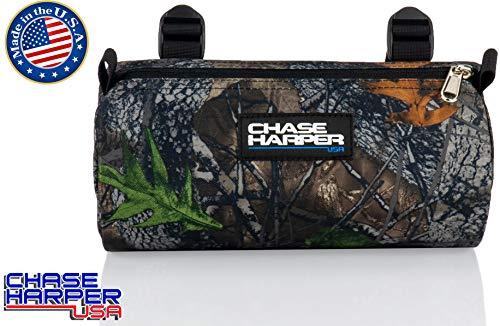 Chase Harper USA 10300 Barrel Bag - 3.5 Liters - Water-Resistant, Tear-Resistant, Industrial Grade Ballistic Nylon - Universal Fit - Backwoods Camo
