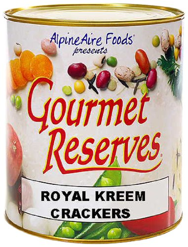 AlpineAire Foods Gourmet Reserves Royal Kreem Crackers (10-Can)