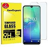CaseExpert 2 Pack - Oukitel C15 Pro Protector de Pantalla, Ultra Tanque Transparente Cristal 9H Cristal Templado Glass Protector de Pantalla para Oukitel C15 Pro
