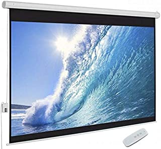 شاشة عرض كهرباء تعمل بريموت سلكي وأخر لاسلكي 244X244 سم
