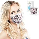 ALB Stoffe® ProtectMe - OP Masken SPRING, 100% Made in Germany, zertifizierte Premium-Atemschutzmaske bedruckt, Medizinische Gesichtsmaske Typ II, 20er Pack, verschiedene Designs