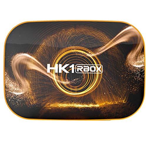 TTBD Smart TV Box Android 10.0 4GB 32GB ROM TV Box 4K Media Player USB3.0 Set Top Box para Netflix Youtube Enchufe de la UE
