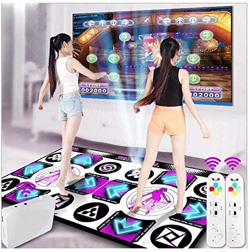 Tanz-Matten-3D-HD-Anti-Rutsch-Decke, Wireless Doppel Somatosensory Spiel-Maschine, unbegrenzte Downloads von Songs und Spielen für Home Entertainment-Geschenke