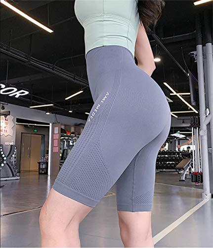bayrick 2021 nuevos Pantalones de Yoga,Leggings Sexy sin Fisuras Deporte Mujeres Gimnasio Alto Cintura Pinkle Peggings-1_Metro