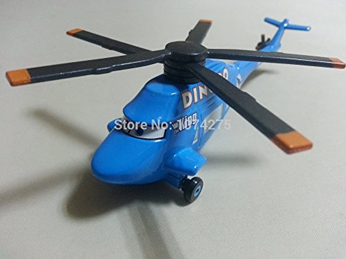 Pixar Cars Toys Diecast Dinoco Helicopter Metal 1:55 Scale