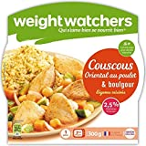 WEIGHT WATCHERS - Couscous Oriental Poulet Légumes Et Boulgour 300G - Lot De 3