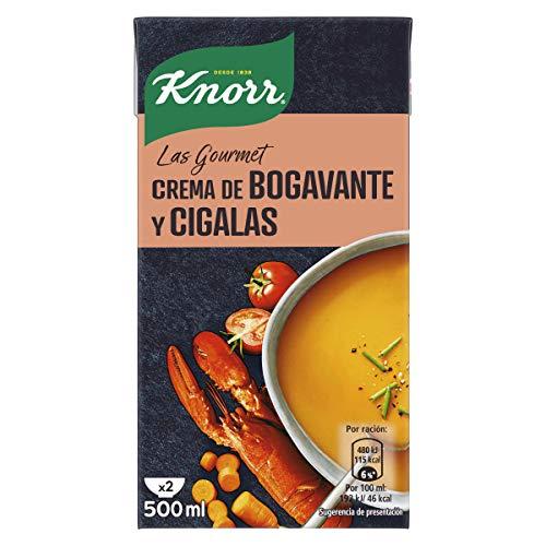 Knorr Gourmet, Crema de bogavante y cigalas - 500 ml.